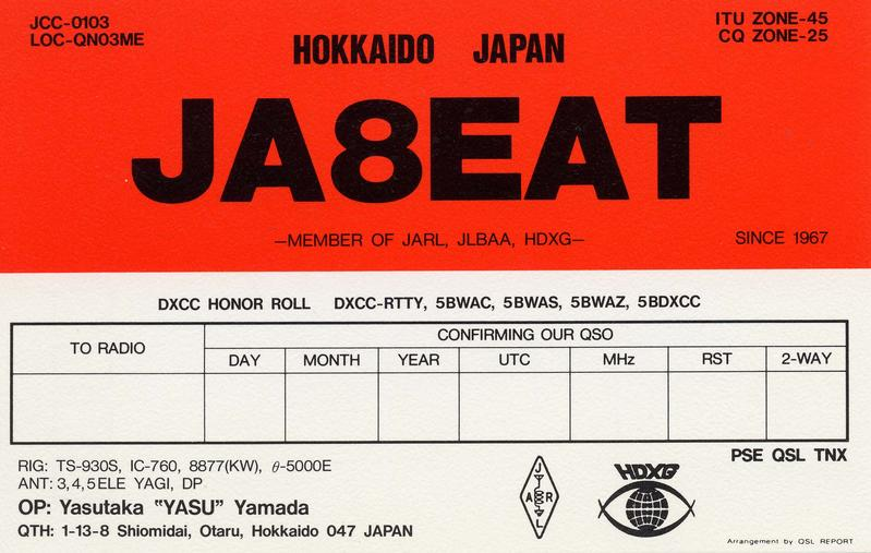 Primary Image for JA8EAT