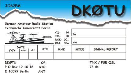 Primary Image for DK0TU
