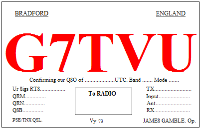 Primary Image for G7TVU