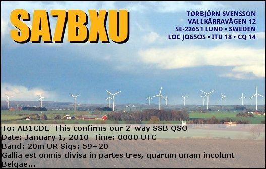 Primary Image for SA7BXU