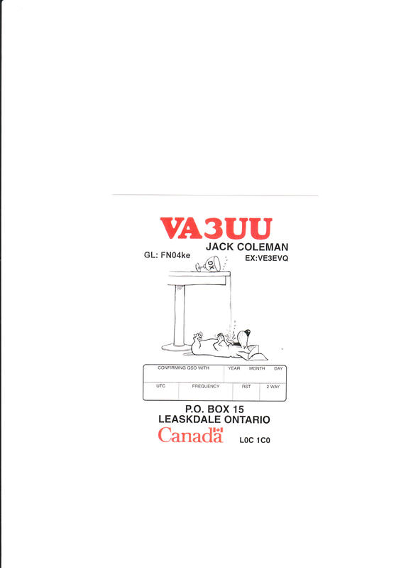 Primary Image for VA3UU