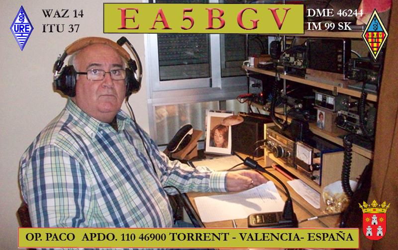 Primary Image for EA5BGV