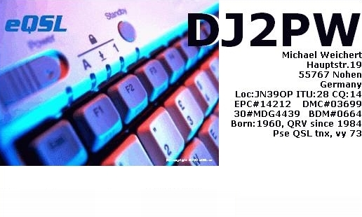 Primary Image for DJ2PW