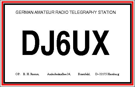 Primary Image for DJ6UX
