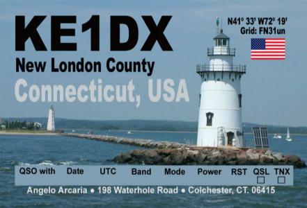Primary Image for KE1DX
