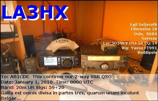 Primary Image for LA3HX
