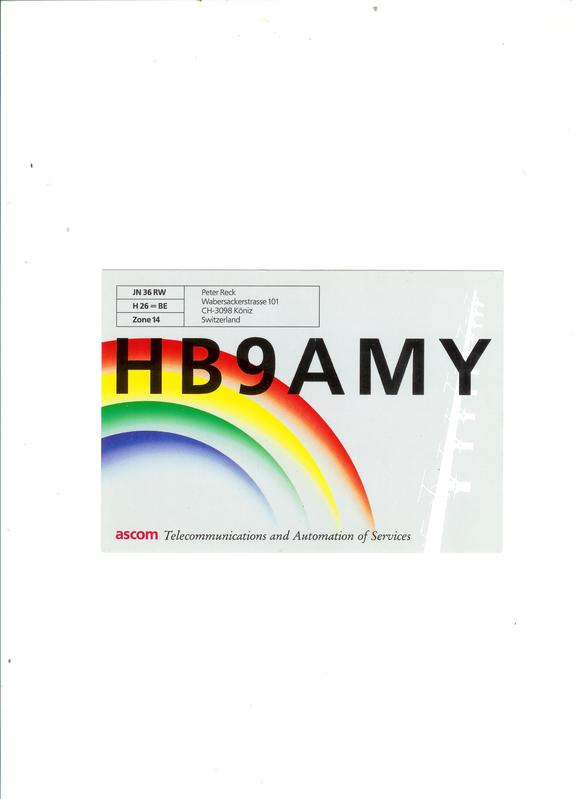 Primary Image for HB9AMY