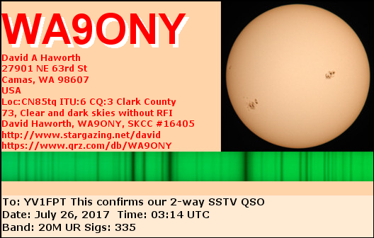 Primary Image for WA9ONY