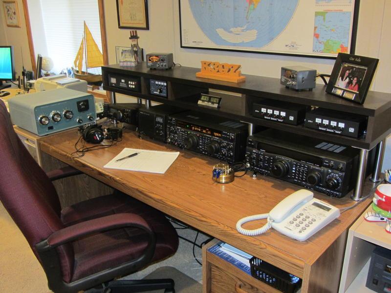 k3qz, ham radio, hoa, flagpole antenna, hf vertical