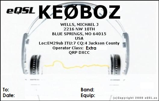 Primary Image for KE0BOZ