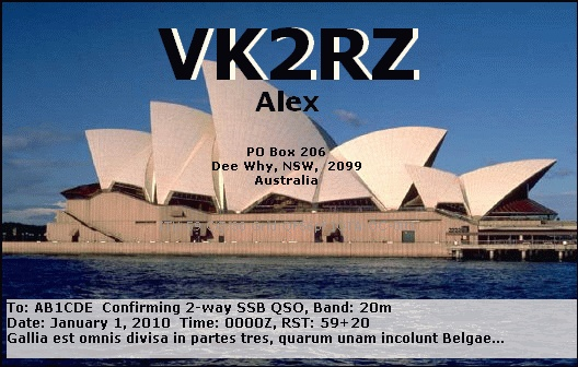 Primary Image for VK2RZ